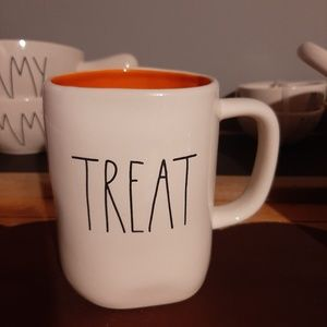Rae Dunn TRICK TREAT double sided mug